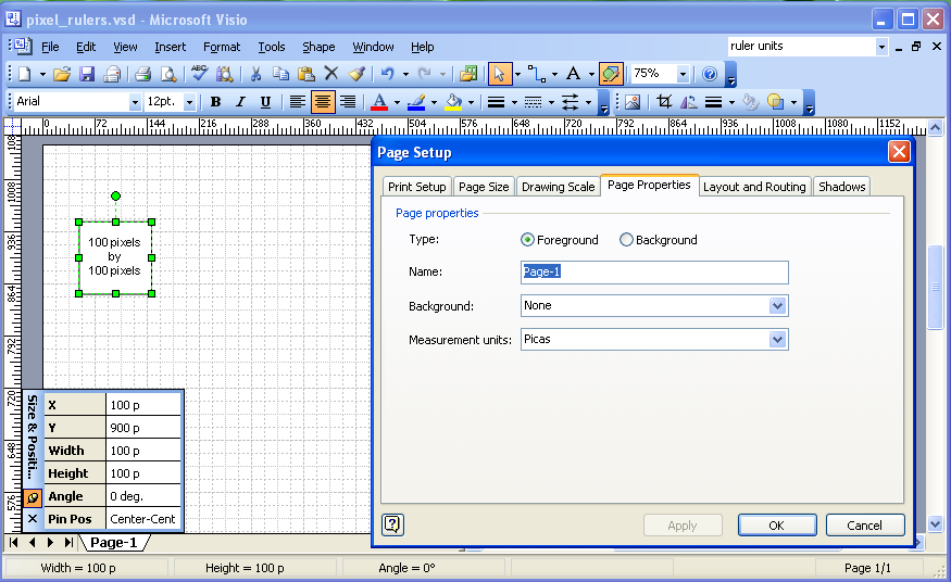 Drawing Lines In Visio : Inch well diagram free engine image for user manual